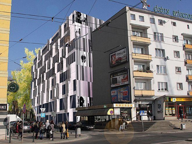 Tak ma się prezentować hotel od strony ulicy Piłsudskiego