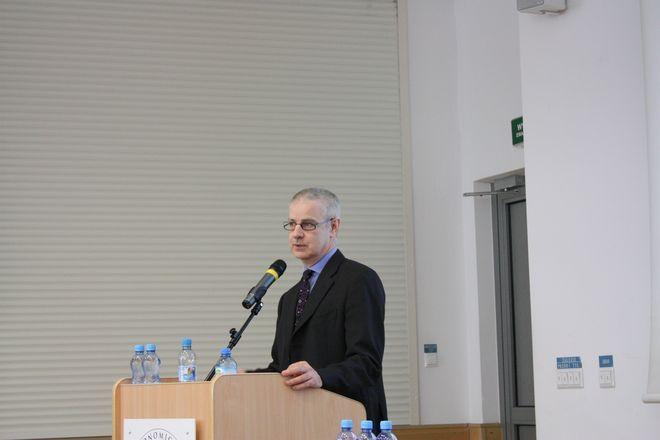 Franco Cassinari - szef centrum IBM we Wrocławiu.