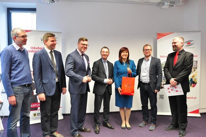 Inkubator Przedsiębiorczości i Technologii Wrocławskiego Parku Technologicznego powstał na terenie Maszynowni Biznesu