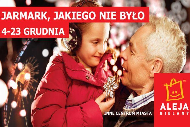 Jarmark w Alei Bielany rusza 4 grudnia