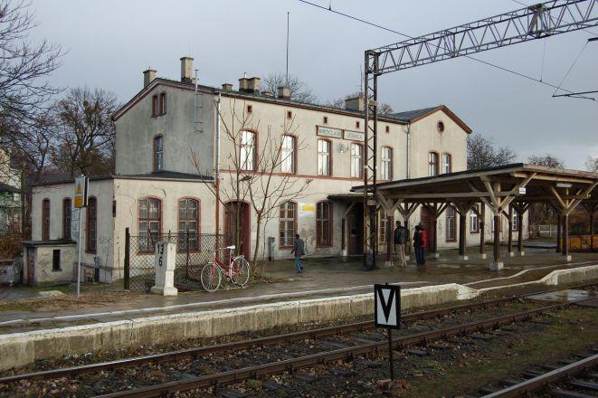 Stacja Wrocław Leśnica.