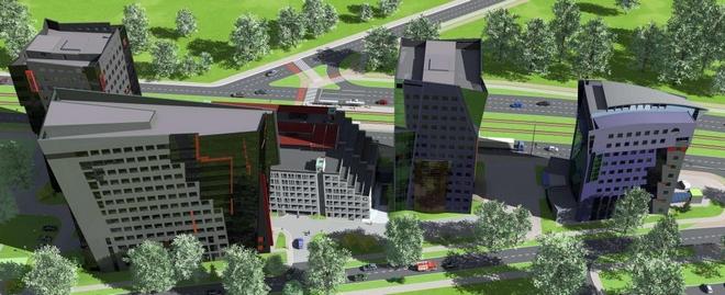 Na terenie kompleksu Millennium Towers powstanie wielopoziomowy parking
