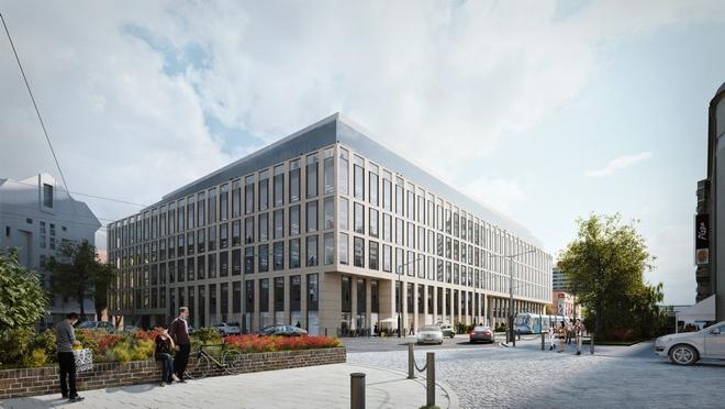 Tak ma wyglądać Nobilis Business House, który stanie tuż przy Pasażu Grunwaldzkim