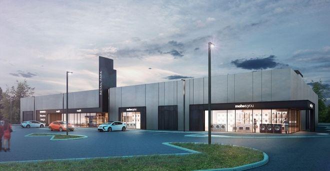 Inwestor chce postawić dwa parki handlowe tego typu: jeden we Wrocławiu, drugi w Zielonej Górze