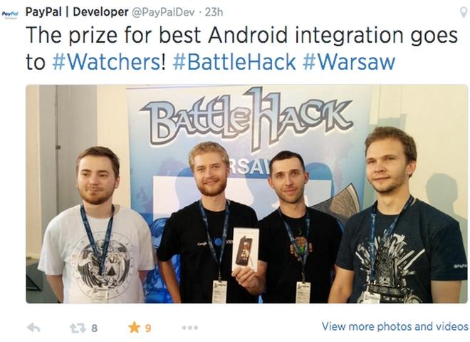 Wrocławski zespół z nagrodą za najlepsze wdrożenie Android