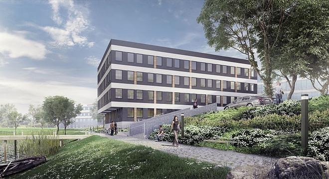 Trwa budowa kolejnego biurowca w ramach kompleksu Racławicka Center