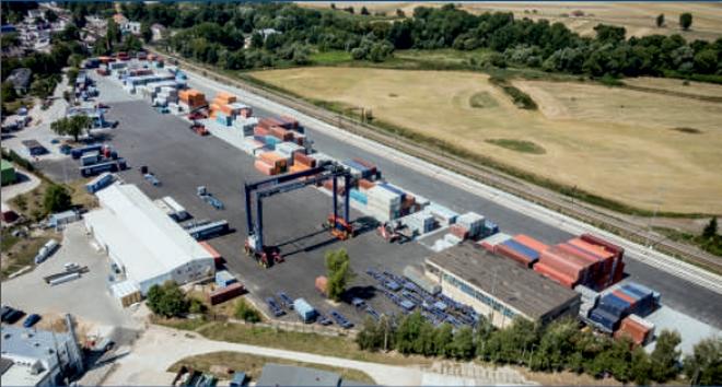 Terminal kontenerowy powstał w Kątach Wrocławskich