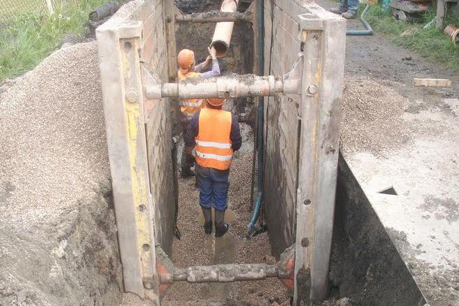 Budowa kanalizacji na osiedlu Zakrzów