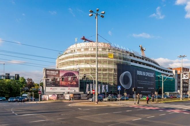 OVO Wrocław nabiera końcowych kształtów