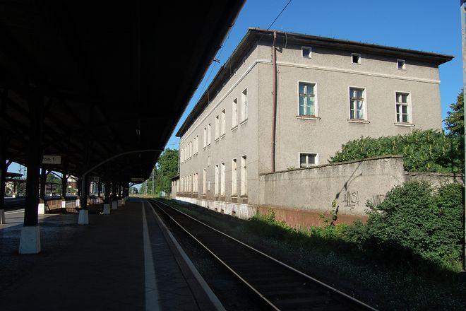 Dworzec w Jaworzynie Śląskiej przed modernizacją