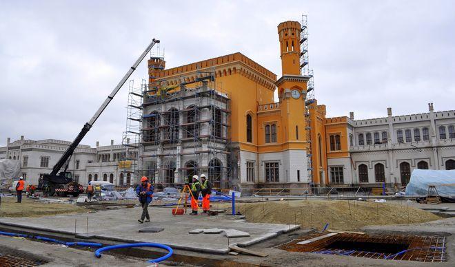 Przebudowa dworca ma się zakończyć na przełomie maja i czerwca