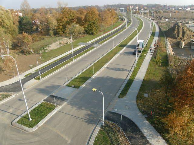 Szerokie przedłużenie ulicy Granicznej ma 1500 metrów długości