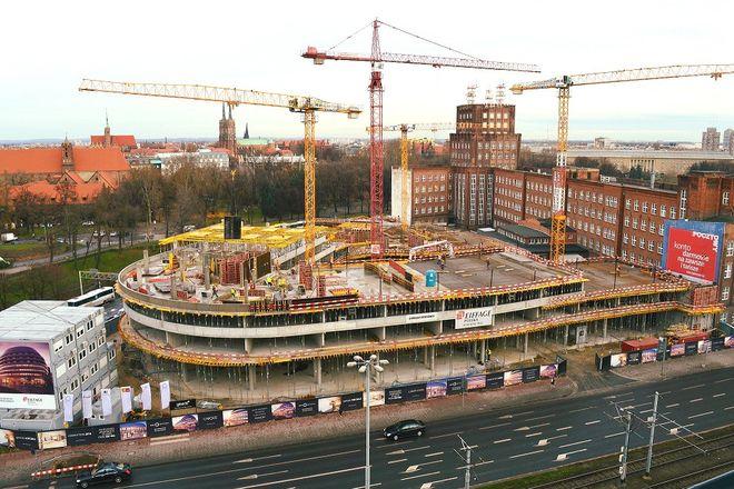 Budowa Ovo Wrocław ma potrwać jeszcze ponad rok