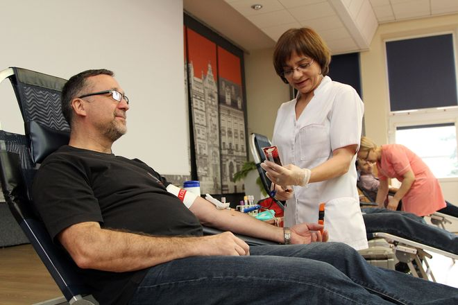 W ostatniej akcji zebrano 14 litrów krwi