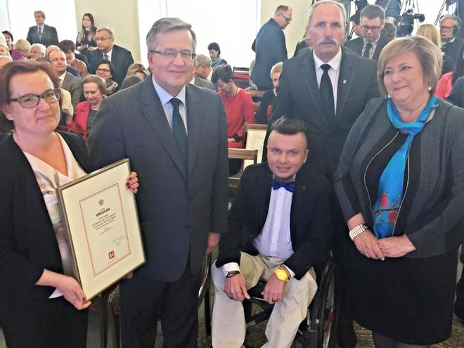 Para prezydencka wraz z nominowanymi