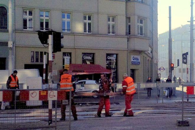 Koniec remontu torowiska w centrum miasta, ale tramwaje pojadą tamtędy tylko w awaryjnych sytuacjach