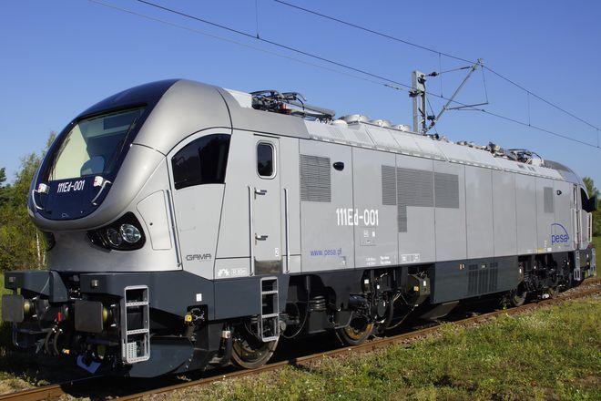 Taka lokomotywa będzie kursować w najbliższych dniach na trasie Wrocław Główny - Warszawa Wschodnia