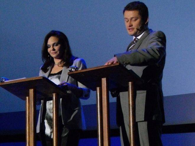 Jarosław Kuźniar (na zdjęciu z prawej) i Marta Grzywacz