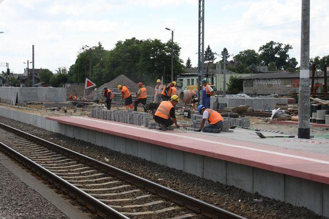 Trwa modernizacja linii kolejowej z Wrocławia do Poznania