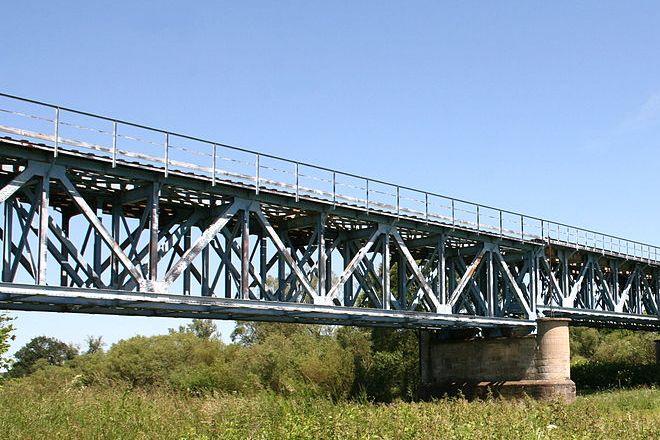 Obecny most na Nysie Łużyckiej w Bielawie Dolnej