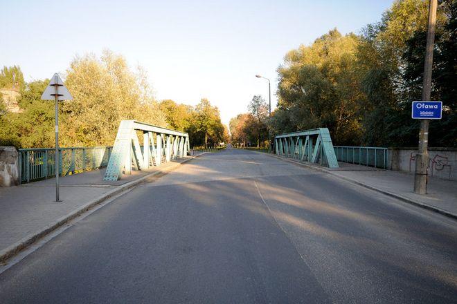 Most Rakowiecki na rzece Oława