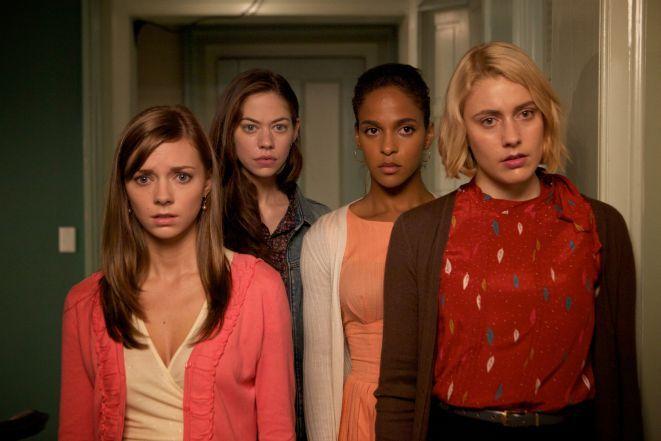 Kadr z filmu ''Damsels in Distress''.