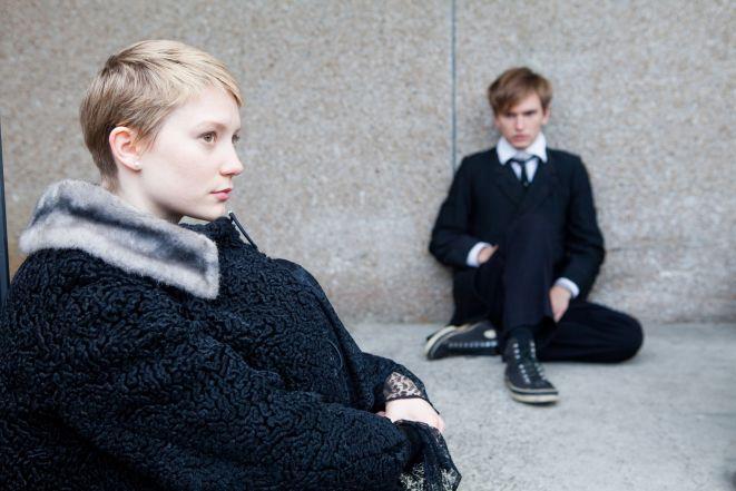 Kadr z filmu ''Restless''.