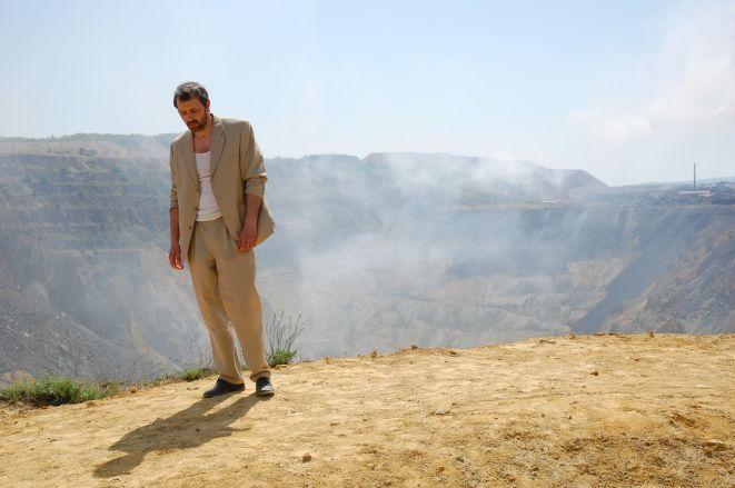 Kadr z filmu ''Biały biały świat''.