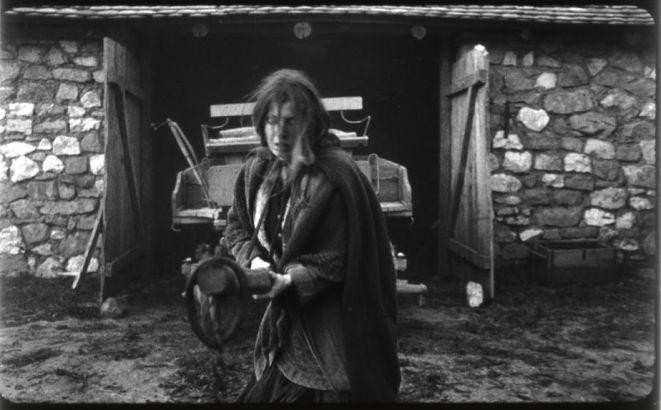 Kadr z filmu ''Koń turyński''.