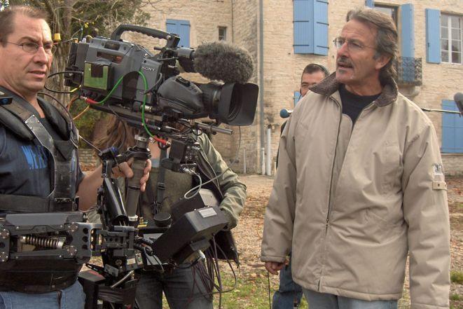 Jean-Paul Jaud podczas parcy nad filmem.