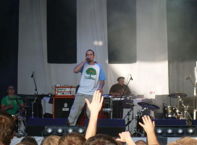 Energia i muzyka Abradaba rozbujały tłumy.
