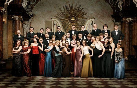 Chór Filharmonii Wrocławskiej.