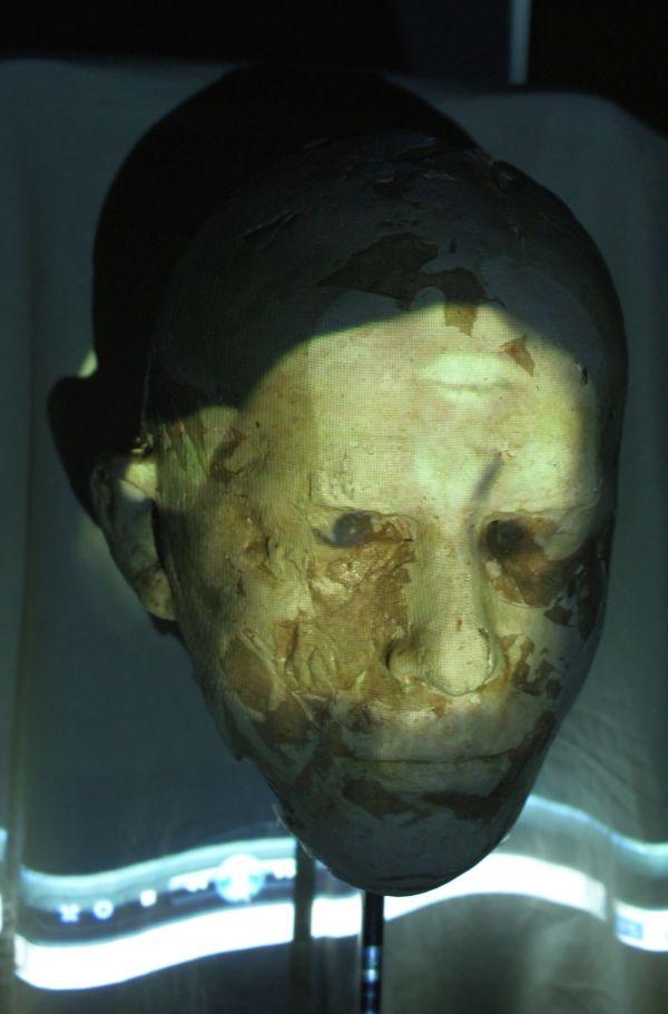 ''Autoportret z Maaxem'', 2010.