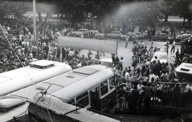 Niektóre ze scen ''80 milionów'' kręcone będą tam, gdzie rozpoczął się wrocławski sierpień '80, czyli w zajezdni nr VII przy ul. Grabiszyńskiej.