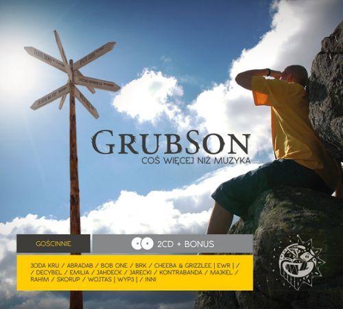 Okładka najnowszej płyty Grubsona ''Coś więcej niż muzyka''.