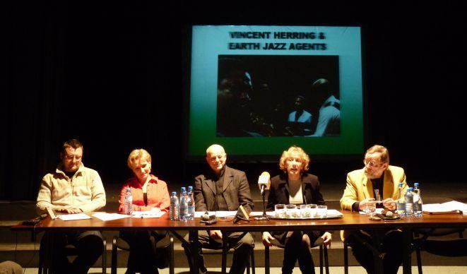 Od lewej: Igor Pietraszewski, Urszula Marciniec-Mazur, Zbigniew Czwojda, Anna Wołek i Wojciech Siwek.