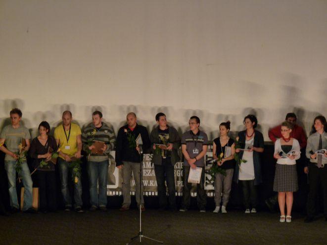 Zwycięzcy XI Festiwalu Kina Amatorskiego i Niezależnego KAN 2010.
