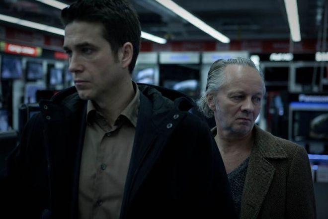 Kadr z filmu ''Lęk wysokości''.