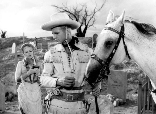 Kadr z filmu ''Lemoniadowy Joe'' w reżyserii Oldricha Lipskiego.