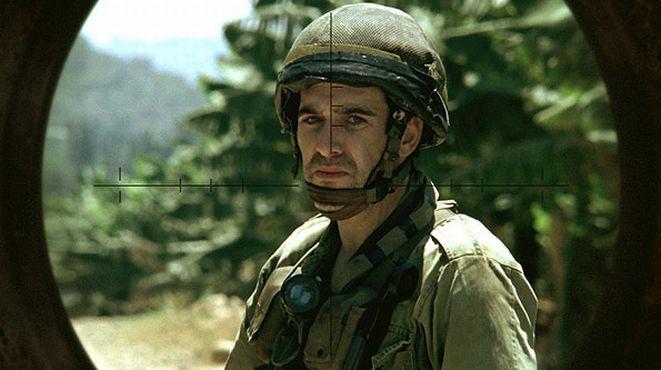 Kadr z filmu ''Liban'' w reżyserii Samuela Maoz.
