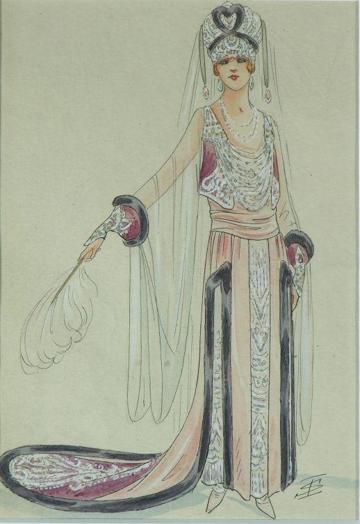 Igor Sokolow, projekt kostiumu.