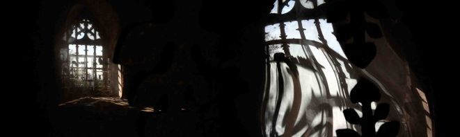 ''Mormorando'', 100x30 cm fotografia barwna.