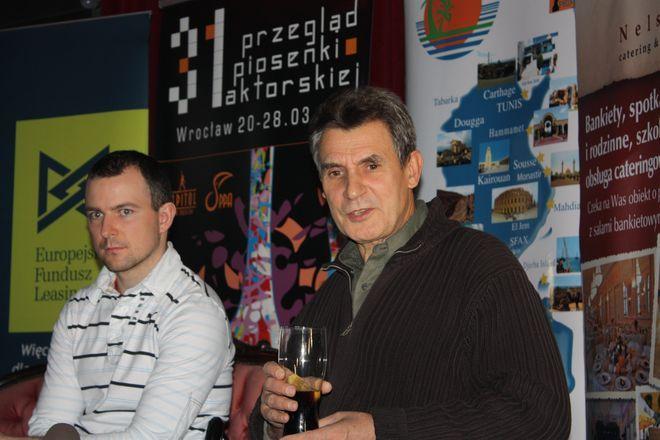 Jerzy Bielunas i Maciej Florek opowiadają o soektaklu ''Złota Różdżka''.