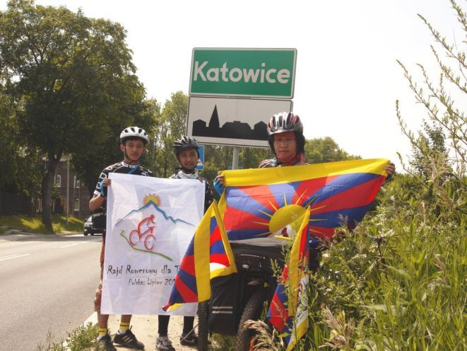 W drugim dniu rajdu rowerzyści dotarli do Katowic.