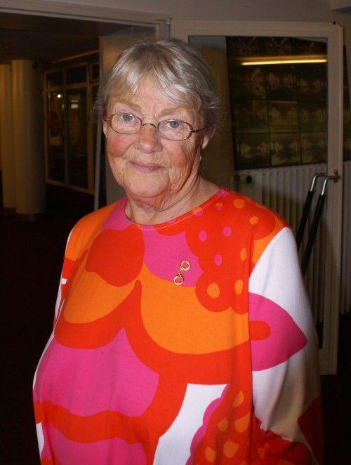 Maj Sjöwall, tegoroczna laureatka Nagrody Wielkiego Kalibru.