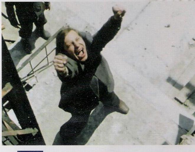 Kadr z filmu ''Spokój'' w reż. K. Kieślowskiego.