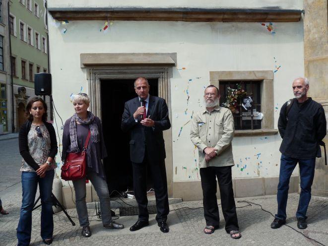 Władze Wrocławia zapewniają, ze Dom Miedziorytnika, w którym tworzył artysta pozostał symbolem jego twórczości