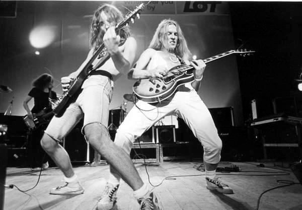 TSA podczas Rock Jamboree w 1981 roku.