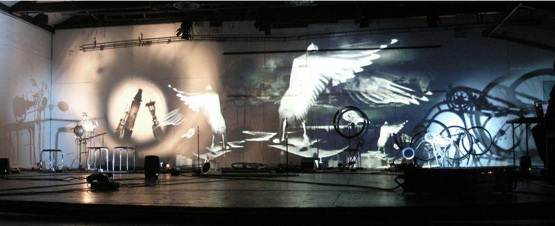 Instalacja teatru Verdensteatret.
