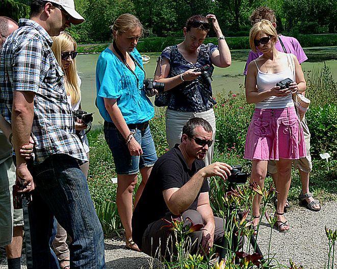 W Lublinie uczestnicy warsztatów szkolili się z zakresu fotografowania przyrody.